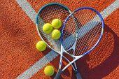 Постер, плакат: Tennis