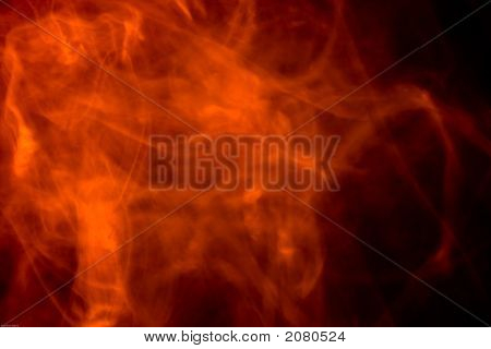 Fire Fog Background
