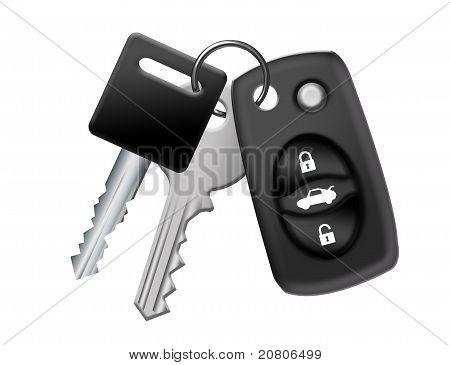 Keychain Car