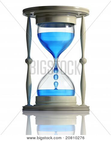 Time runs fast.