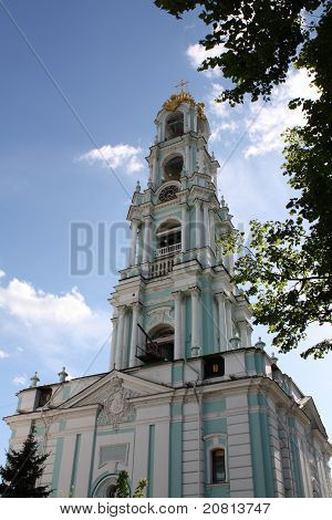 Belfry Of The Holy Trinity Sergius Lavra