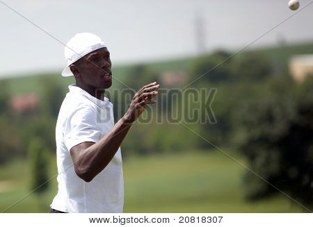 Usain Bolt in Czech republic