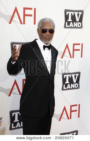 CULVER CITY - JUN 9: Morgan Freeman at the 39th AFI Life Achievement Award Honoring Morgan Freeman held at Sony Pictures Studios  in Culver City, California on June 9, 2011.