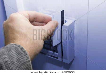 Abrelatas de la puerta - tarjeta