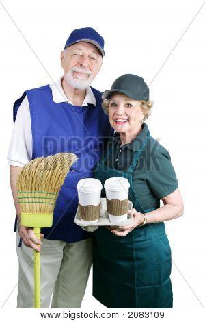 Seniors Back At Work