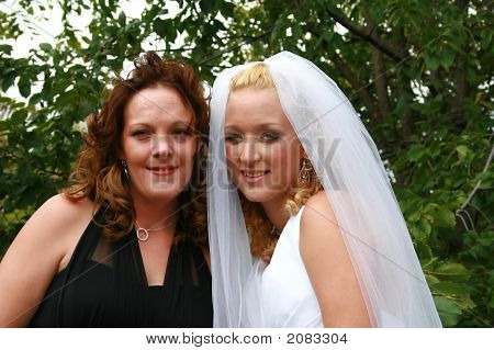 Bride And Her Friend