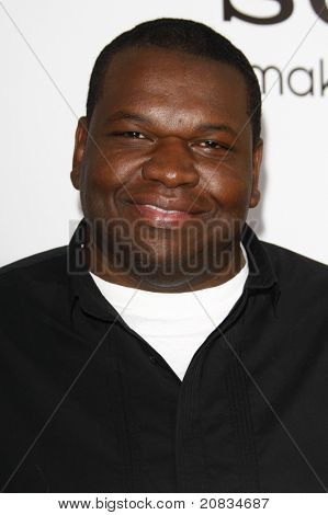 LOS ANGELES - APR 12: Kelvin Brown at the World Premiere of 'Death At A Funeral' held at the Arclight Theater in Los Angeles, California on April 12, 2010.