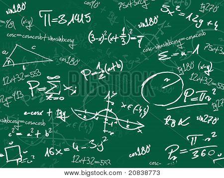 Green Math School Blackboard