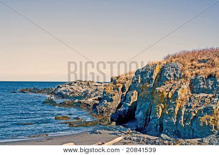 Rugged Maine Coastline