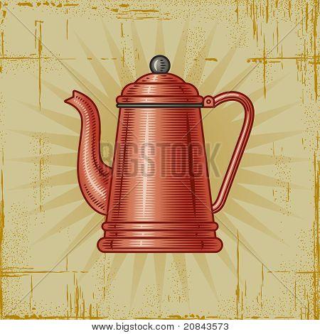 Retro Coffee Pot