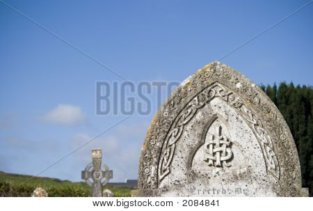 Tombstone, Celtic Pattern