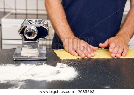 Making Pasta Detail
