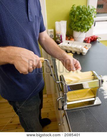 Pasta Making Detail