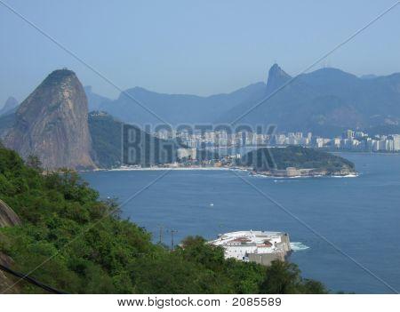 View Of Rio De Janeiro City Entrance