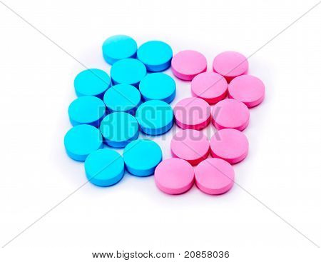 Colored Tablets