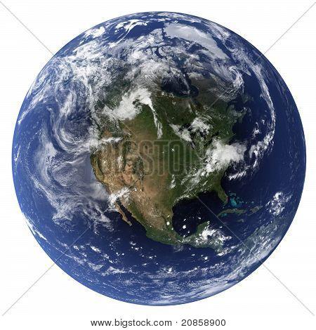 Erde - Nordamerika
