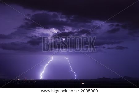 Robles Junction Lightning