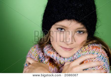 Freezing Teenager