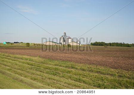Farm Fields in Spring
