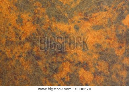 Rust Colored Formica Background
