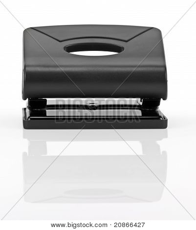 Black Office Hole Punch