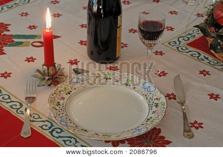 Romantic Dinner In Candlelight