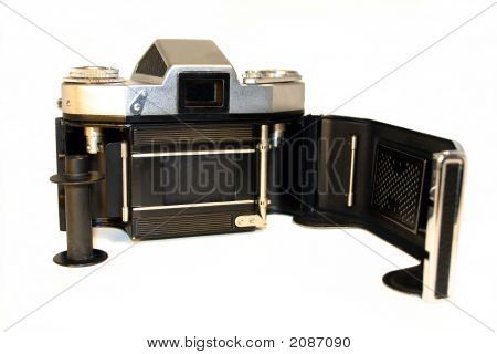 Old 35Mm Film Camera - Isolated