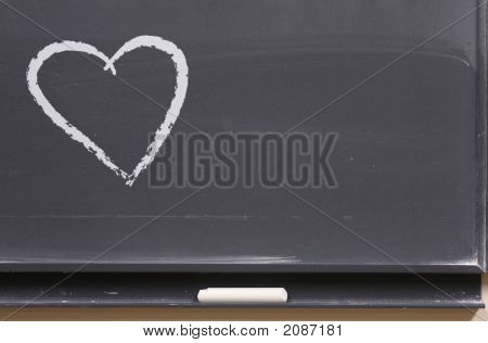 Love Message On The Board
