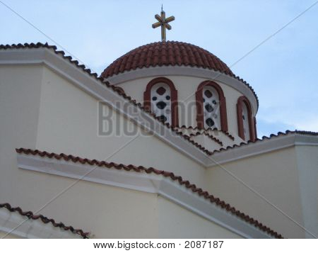 Church In Crete, Greece