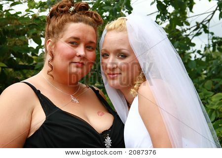 Bride And Friend