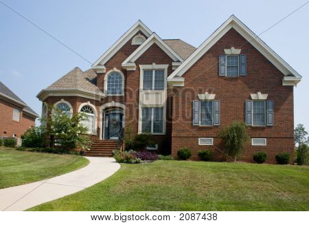 Custom Brick Home