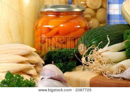 Canned Vegetables Versus Fresh Vegetable