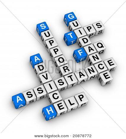Hilfe und Support