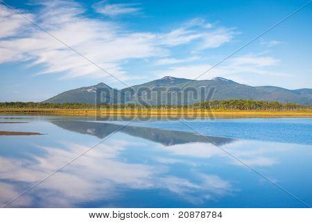 Russian, Primorye, Blue Reflection