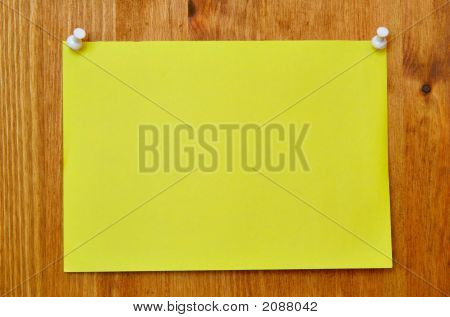 Hoja amarilla Banco