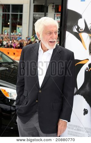 """LOS ANGELES - JUN 12:  Dick Van Dyke arriving at the """"Mr. Popper's Penguins"""" Premiere at Grauman's Chinese Theater on June 12, 2011 in Los Angeles, CA"""