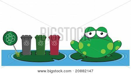Frog recycle