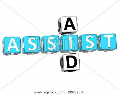 3D Assist Aid Crossword