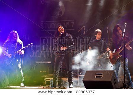 Magica perform at Seawolves Bike Fest 4