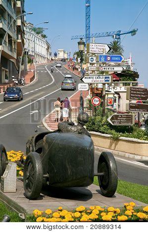 Street In Monte Carlo, Monaco