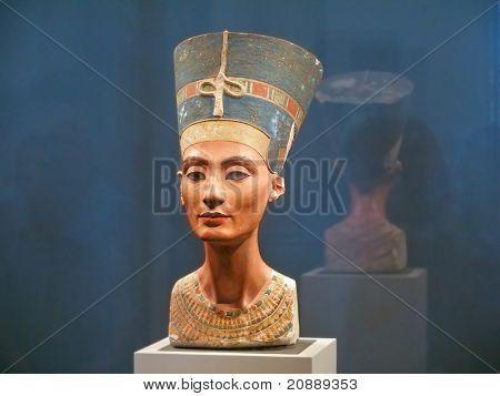 Famous Bust Of Queen Nefertiti