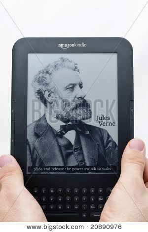 Leitor de ebook - Amazon Kindle