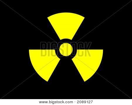 Symbol Radioactive Danger