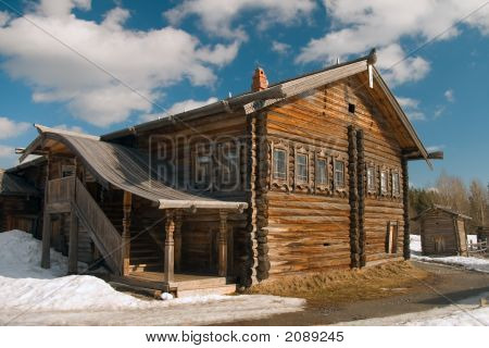 House Of The North Russian Fisherman - Pomor