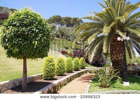 Bahai Gardens. Israel
