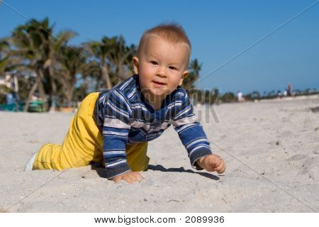 Boy On The Beach