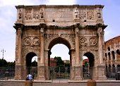Landmark Of Rome, Italy poster