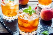 Peach Iced Tea poster