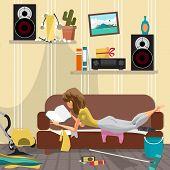 laziness poster