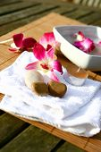 Orchid Spa For Evening Outdoor Massage Session poster